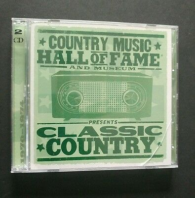Country Music Hall of Fame and Museum Presents Classic Country 2 CDs