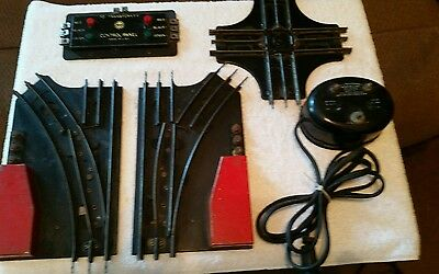 VTG LOT OF MAR'S/MARX AND LIONEL TRAIN TRACK PARTS, 1950,s
