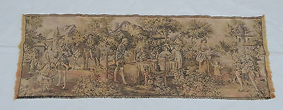 Vintage French Beautiful Scene Tapestry 130x35cm (T594)