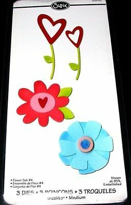 REDUCED TO CLEAR - Flowers Sizzix Sizzlits Die Set - 656762