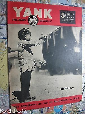 Yank The Army Weekly - May 4 1945 - Vintage Magazine