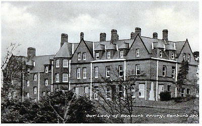 OUR LADY of BENBURB PRIORY TYRONE IRELAND IRISH POSTCARD by BUTLER & SON No.290