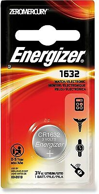 Pile CR1632 pile bouton  lithium 3V CR 1632 Energizer battery Knopfzelle