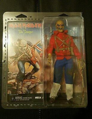 Iron Maiden The Trooper Clothed Action Figure NECA