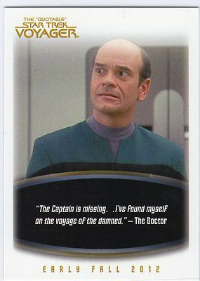 The Quotable Star Trek Voyager Trading Cards Promo Card P2