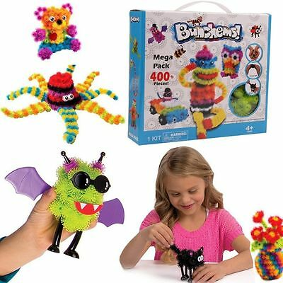 Kids Bunchems Mega Pack Over 400 Pieces Children Toy XMS Festival Birthday Gift