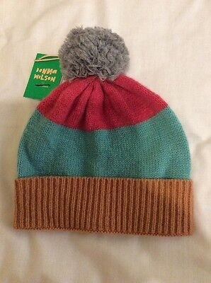 John Lewis Unisex Stripe Hat, Age, 5-8 Years