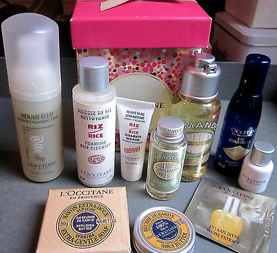 L'OCCITANE SKINCARE. Set of bestseller's minis and limited edition products.