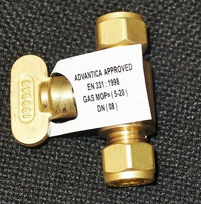 8mm ISO Gas Valve