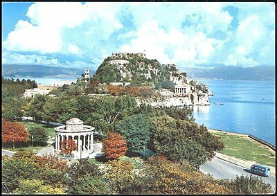 Corfu - Le Vieux Chateau Posted 1974 Stamp Intact