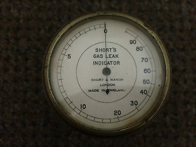 Vintage Shorts Gas Leak Indicator Gauge