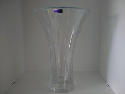 Marquis by Waterford CRYSTAL Sheridan Flarred Vase 27.5cm RRP $200.00