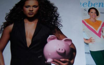 Alicia Keys 103 pc German Clippings Collection Poster