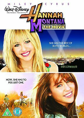 Hannah Montana: The Movie PAL with Miley Cyrus New (DVD  2009)
