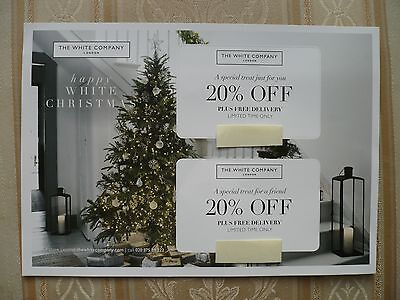The White Company 20% Money Off Voucher