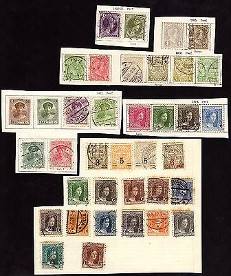 Stamps ~  Selection LUXEMBURG LUXEMBOURG ~ Unsorted #2