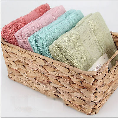 100% Cotton Face Towels Cloth Flannels Wash Cloths Gift Packed 34 x 34cm