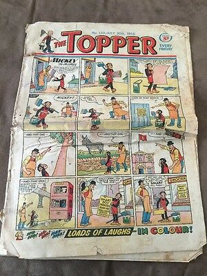 THE TOPPER Comic - Number 130 30th July 1955