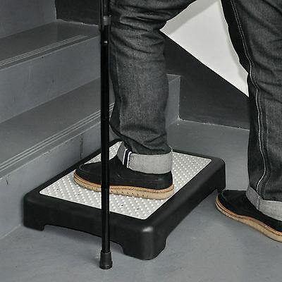 Non slip Half Step Stool Elderly Disability Mobility strong Portable Doorway New