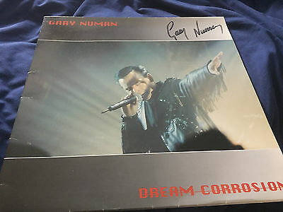Gary Numan - Dream Corrosion Autographed Cover [No Records]