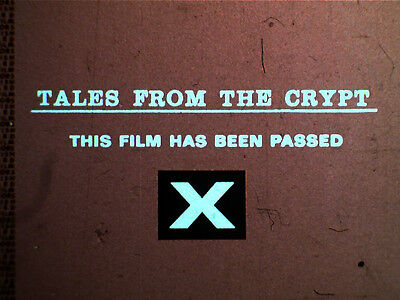 35mm FILM -  TALES FROM THE CRYPT - 1972  - REEL ONE ONLY - INCOMPLETE FEATURE