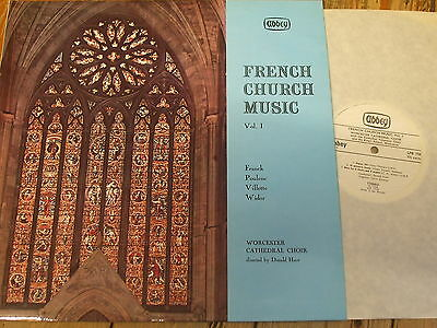 LPB 758 French Church Music Vol. 1 / Hunt / Worcester Cathedral Choir