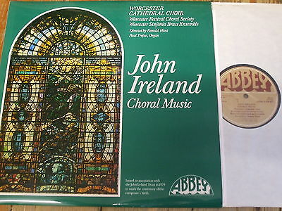 LPB 803 Ireland Choral Music / Hunt / Worcester Cathedral Choir