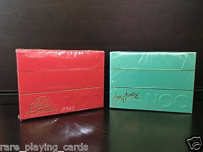 Set of 2 decks NOC playing cards (DaOrtiz NOC Deck and Laura London NOC Deck)