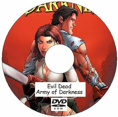 Evil Dead Army of Darkness Comic Collection 112 Issues on DVD