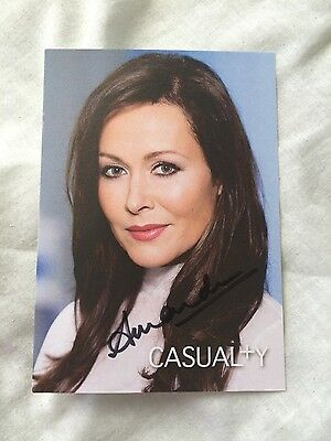 Casualty Hand Signed Cast Cards
