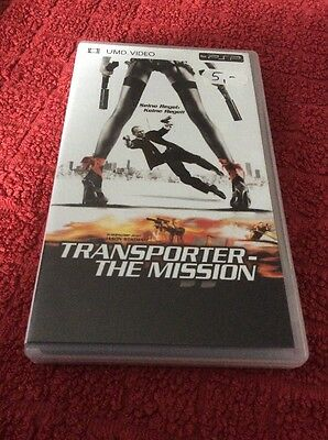 Transporter The Mission  Video  UMD für Sony PSP   sehr gut & OVP  boxed