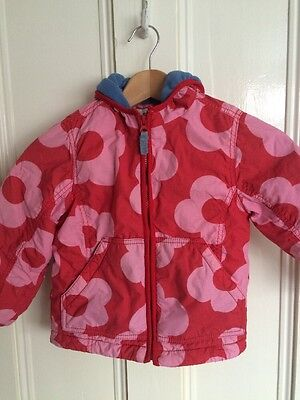 mini boden girls coat 3-4