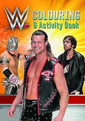 WWE Colouring Book