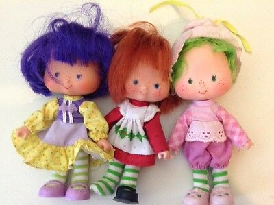 Strawberry Shortcake And Friends 1980 Dolls