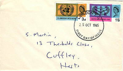 7 x FDCs from 1965 - 1967