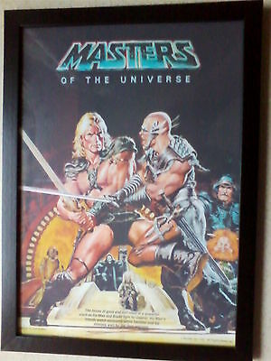 Masters of the Universe (1987 movie poster) framed print