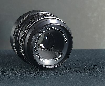 M42 Screw mount Genuine Carl Zeiss Jena 50mm f/2.8 Tessar prime lens