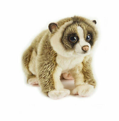 "Slow Loris soft plush toy 11""/28cm National Geographic stuffed animal NEW"