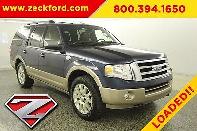 2013 Ford Expedition King Ranch 4x4 5.4L V8 Automatic 4WD Premium Moonroof Navigation Trailer Tow Leather DVD