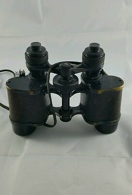 "Antique Huet Paris ""Postbellum"" 6x Binoculars"