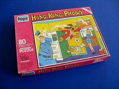 1976 Hong Kong Phooey Hanna-Barbera 80 Piece Puzzle -  Uk Import **complete**