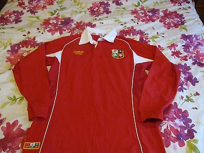 British Lions Cotton Traders Classic Rugby Shirt