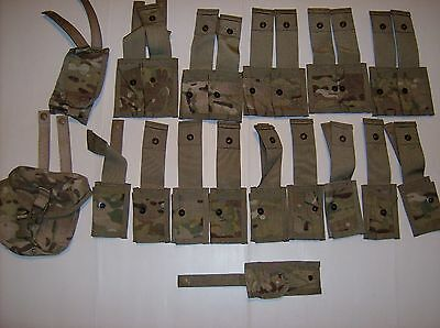 US Army Lot Molle II Pouches Multicam