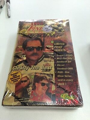Finish Line Racing Cards - 1995 Sealed Box Limited Edition NASCAR  - Ships Free