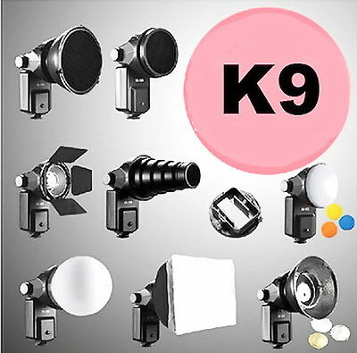 NEW Speedlite multi-function Complete Kit For Flash Gun Accessories Kit