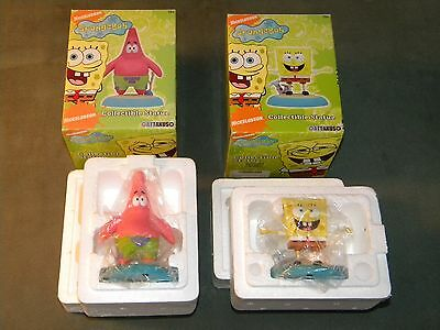 Spongebob Squarepants and Patrick Limited Edition Statues, Only 2000, NEW