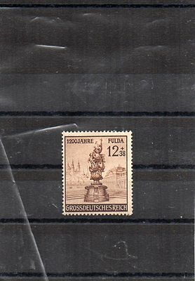 Stamps. Germany. 3rd. Reich.1944 1200th. Anniv. Of Fuelda.. MLH..