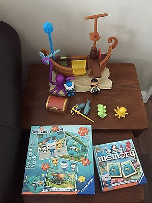 Octonauts Pirate Ship And Jigsaw And Memory Match Game