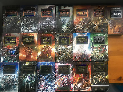 Horus Heresy Series Books (Paperback, Hardback and Special/Collector Editions)