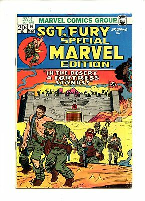 Special Marvel Edition #14 (1972) Sgt. Fury FN- 6.0
